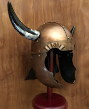 Horned Viking Helmet. Windlass